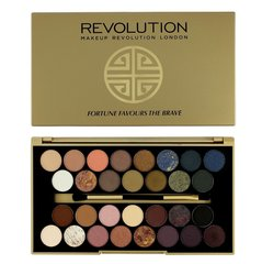 Acu ēnu palete Makeup Revolution London Fortune Favours The Brave Palette 16 g