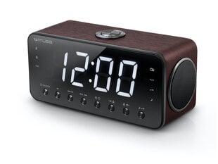 Muse Clock radio M-192DW Dual alarm clock - PLL FM radio, Black, Display : 1.8 inch LED with dimmer