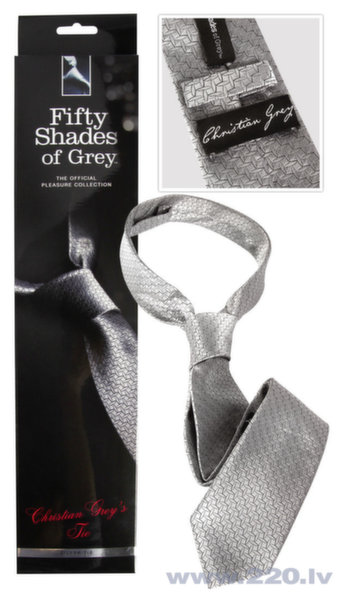 "Галстук  ""Christian Grey's"", Fifty Shades of Grey"