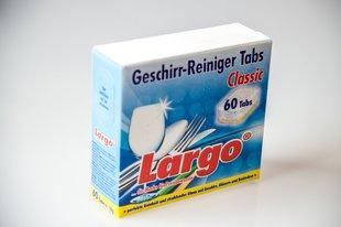 LARGO таблетки для мытья посуды ALL IN ONE, 60 шт.