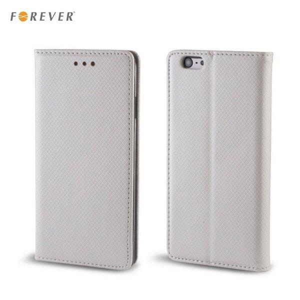 Forever Чехол-книжка для мобильного телефона Sony Xperia E5 серебряный