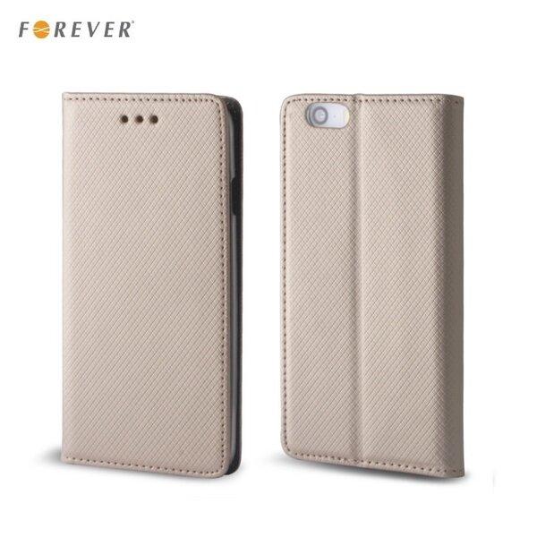 Forever Чехол-книжка для мобильного телефона LG K520D Stylus 2 золотой