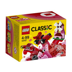 10707 LEGO® Classic Red Creativity Box Красная коробка