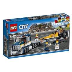 Konstruktors LEGO® City Dragster Transporter 60151