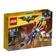 Konstruktors LEGO® BATMAN MOVIE The Joker Balloon Escape 70900 cena un informācija | LEGO | 220.lv