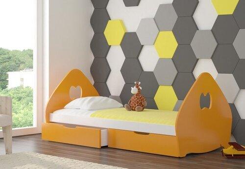 Bērnu gulta ar matraci BALSA