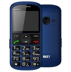 MyPhone HALO 2 Blue ENG/RUS/LV (Zils)