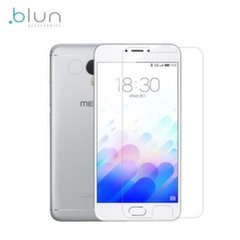 Защитная плёнка- стекло Blun Extreeme Shock Screen Protector 0.33mm / 2.5D Glass Meizu M3 Note (EU Blister)