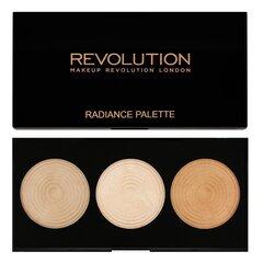 Makeup Revolution London vaigu sārtuma palete Highlighter 15 g