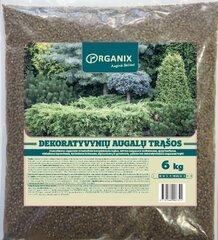 ORGANIX Удобрение для декоративных растений, 6KG цена и информация | Сыпучие удобрения | 220.lv