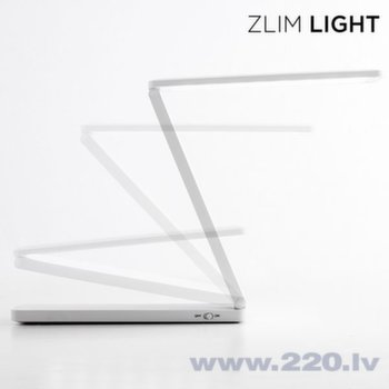 "Salokams LED gaismeklis ar USB ""Zlim Light"""