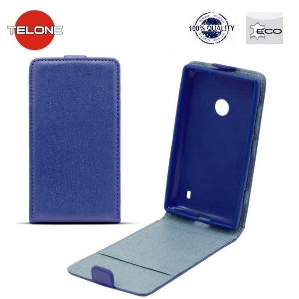 Вертикально открывающийся чехол Telone Shine Pocket Slim Flip Case для Huawei P9 Синий