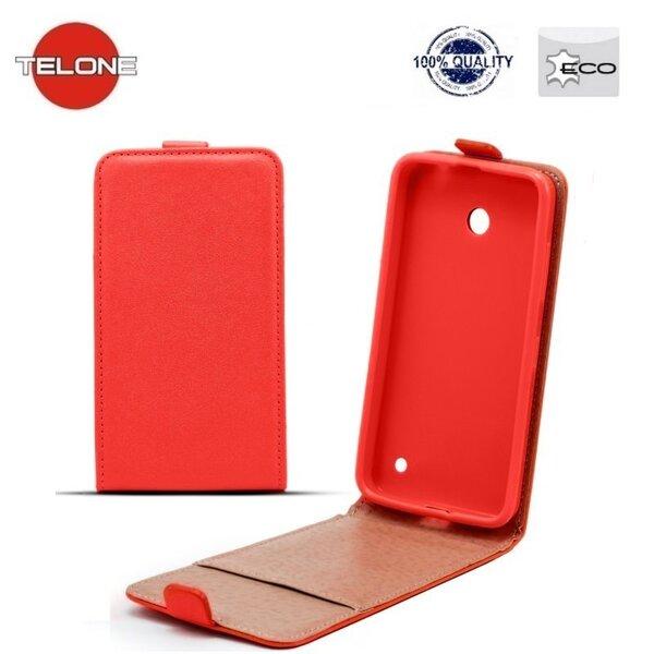 Вертикально открывающийся чехол Telone Shine Pocket Slim Flip Case для Samsung A520F Galaxy A5 (2017) Красный