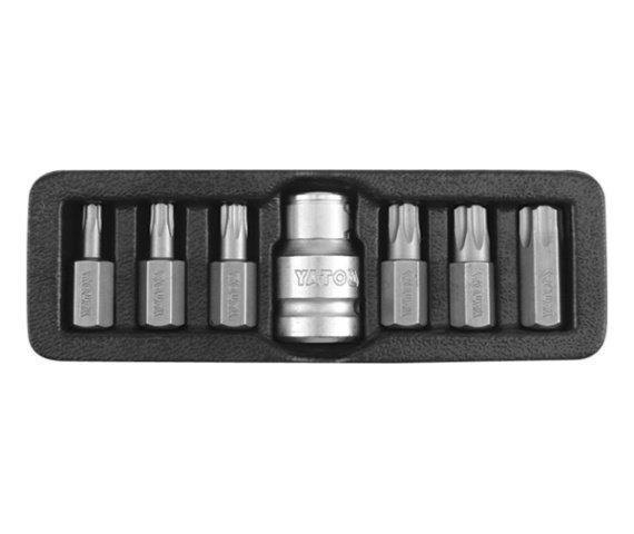 TORX TAMPERPROOF YATO комплект насадок, 7 шт.