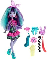 Кукла Monster High Electrified Monstrous Hair Ghouls Twyla DVH69, 1 шт.