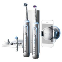 Oral-B Toothbrush PRO 8900 Electric Rechargeable, Silver, Sonic technology, Operating time 48 min, Number of brush heads included 3 cena un informācija | Oral-B Toothbrush PRO 8900 Electric Rechargeable, Silver, Sonic technology, Operating time 48 min, Number of brush heads included 3 | 220.lv