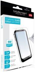 Ekrāna aizsargstikls MyScreen tempered glass priekš Apple Iphone 6 Plus cena un informācija | Ekrāna aizsargplēves | 220.lv
