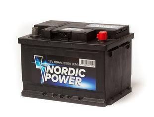 Nordic Power 60Ah 520A