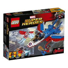 76076 LEGO® Super Heroes Captain America Jet Pursuit Воздушная погоня Капитана Америка