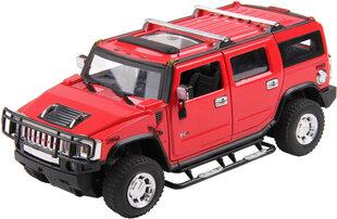 Radiovadāma mašīna Hummer H2 Buddy Toys, 1:24 cena un informācija | Radiovadāmās rotaļlietas | 220.lv