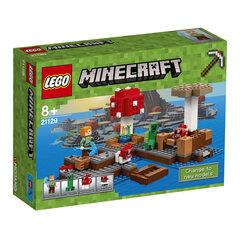 Конструктор LEGO® Minecraft Mushroom Island 21129