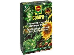 Ilgstošas darbības dārza mēslojums 1kg cena un informācija | Ilgstošas darbības dārza mēslojums 1kg | 220.lv