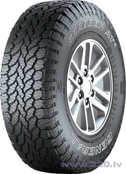 General GRABBER AT3 255/50R19 107 H XL FR