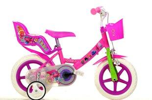 "Meiteņu divritenis Dino Bikes Trolls 12"", 124RL-TRO"