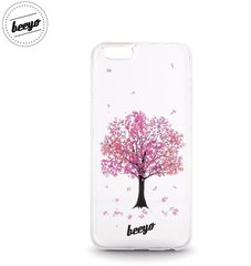 Aizmugurējais apvalks Beeyo Blossom priekš Samsung Galaxy J5 (J500F) Balts/Rozā cena un informācija | Maciņi, somiņas | 220.lv