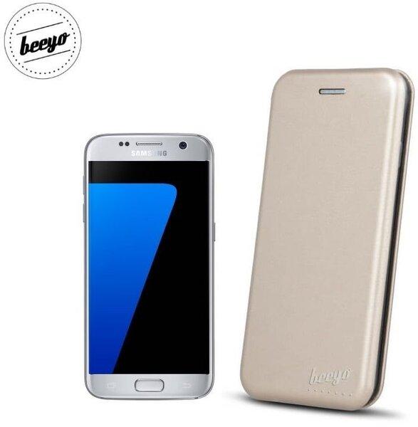 Чехол-книжка Beeyo Diva Series для Samsung Galaxy S7 (G930F) Золотистый