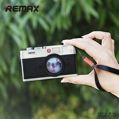 Ārējas uzlādes akumulators Powerbank Remax RPP-31 Retro Photo Camera Design 10000 mAh Melns
