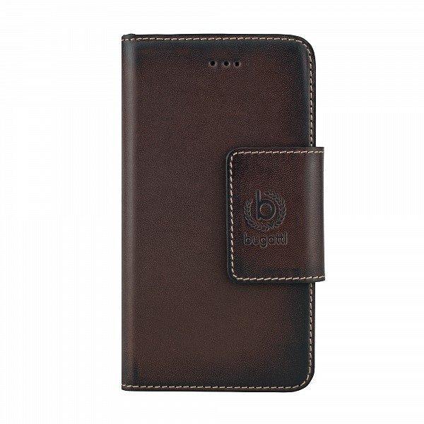 Чехол-книжка AMSTERD Bugatti Samsung Galaxy A5, коричневый