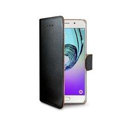 Sāniski atverams maciņš Celly WALLY Samsung Galaxy A5 (2017), melns