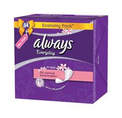 Прокладки Always Fresh Normal 58 шт. цена и информация | Интимная гигиена | 220.lv