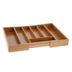 Bambusa paliktnis galda piederumiem cena un informācija | Bambusa paliktnis galda piederumiem | 220.lv