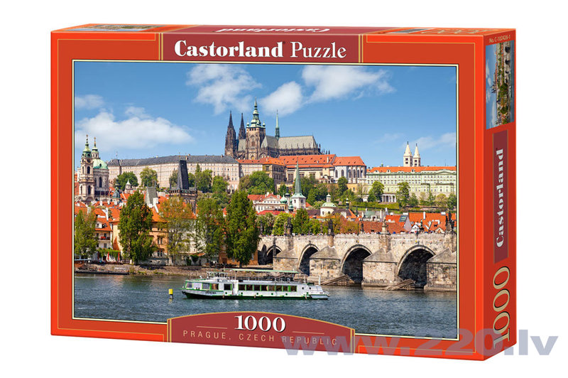 Пазл Castorland Prague, Czech Republic, 1000 дет.