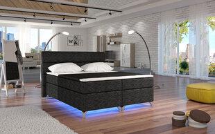 Gulta Amadeo ar LED apgaismojumu , 160X200 cm cena un informācija | Gultas | 220.lv