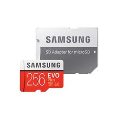 Memory Card MicroSDXC Evo+ Class 10 256GB With adapter cena un informācija | Memory Card MicroSDXC Evo+ Class 10 256GB With adapter | 220.lv