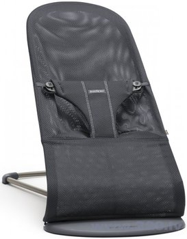 Bērnu šūpuļkrēsls BABYBJÖRN Bliss Anthracite mesh, 006013