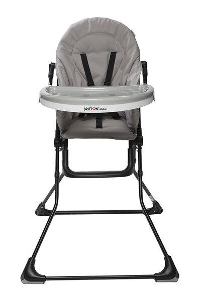 Bērnu barošanas krēsls Britton Alpha+, Dove Grey