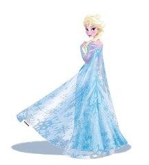 Dekoratīvā uzlīme Disney Elza