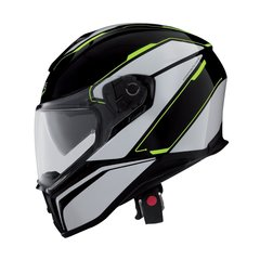 Ķivere Caberg DRIFT TOUR BLACK/WHITE YELLOW FLUO