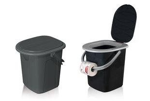 Pārvietojama tualete ar vāku цена и информация | TOP piedāvājumi! | 220.lv