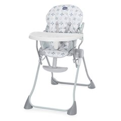 Barošanas krēsls Chicco Pocket Meal, Light Grey