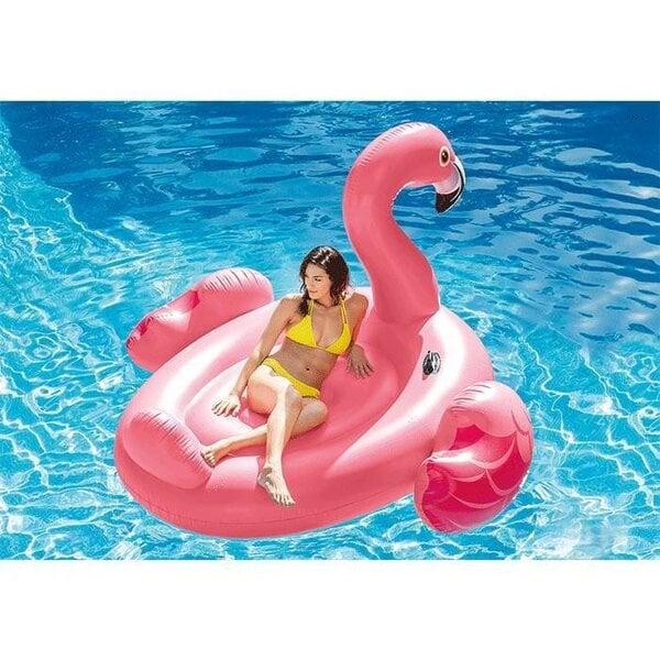 Надувной плот Intex Mega Flamingo Island 221x221x109 см