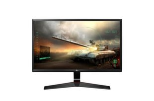 LG monitors LCD 24MP59G-P 24'' IPS, FHD, 5ms, DP, D-Sub, HDMI, melns