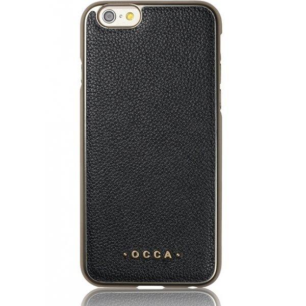 Aizmugurējais apvalks OCCA priekš Apple iphone 6/6S Plus, Melns