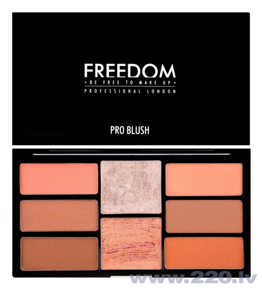 Grima palete Freedom Pro Blush Peach And Baked 15 g