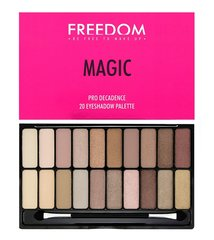Acu ēnu palete Freedom Pro Decadence Palette Magic 18 g