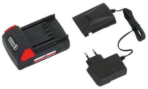 Lādētājs akumulatoriem Grizzly 18 V cena un informācija | Dārza tehnikas rezerves daļas | 220.lv